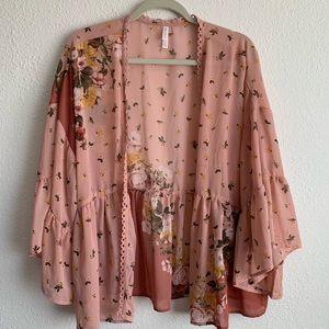 🌸 floral kimono